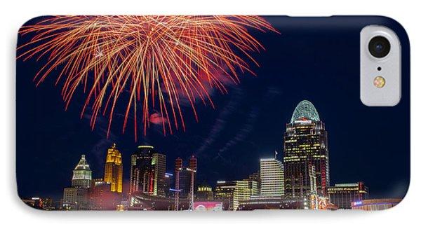 Cincinnati Fireworks IPhone Case