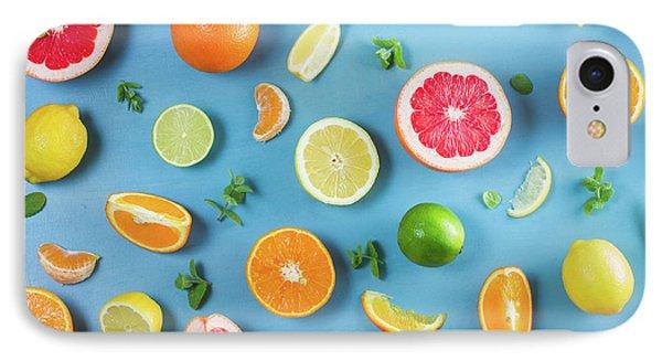 Citrus Summer IPhone Case