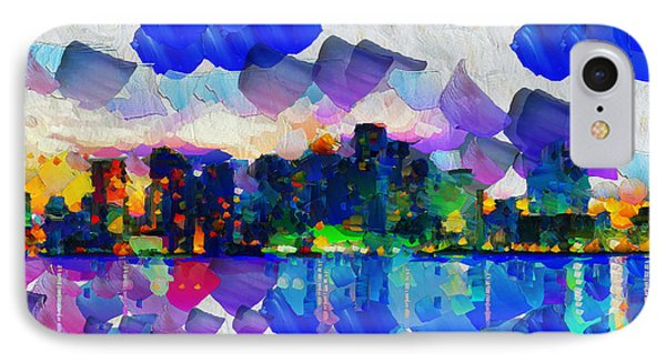City Day Dream Motions - Painting IPhone Case