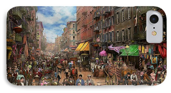 City - Ny - Flavors Of Italy 1900 IPhone Case