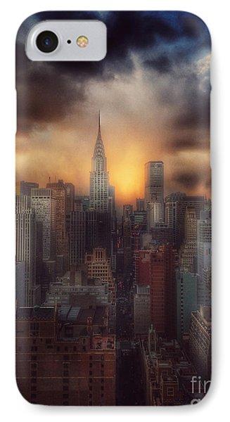 City Splendor - Sunset In New York IPhone Case
