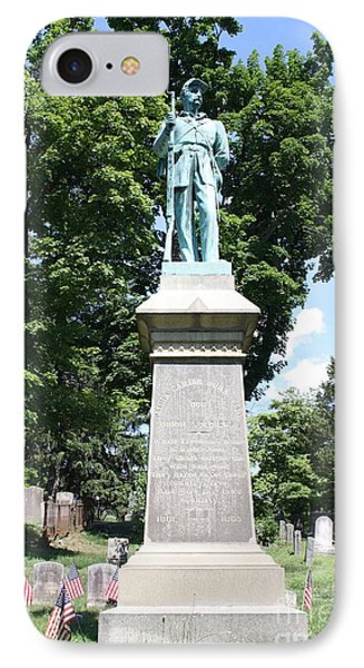 Civil War Memorial To The Soldiers Of Sleepy Hollow  IPhone Case