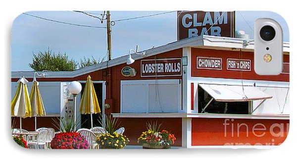 Clam Bar IPhone Case