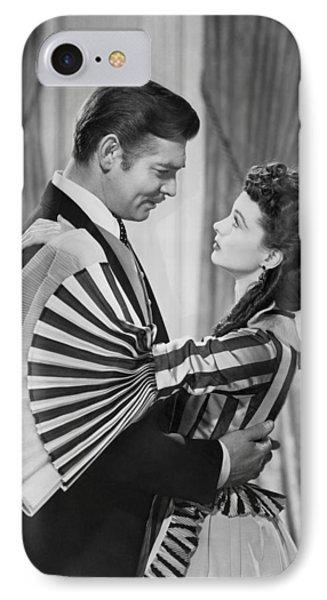Clark Gable And Vivien Leigh IPhone Case