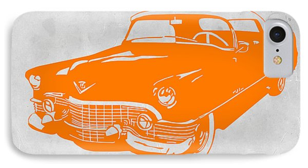 American iPhone 8 Case - Classic Chevy by Naxart Studio