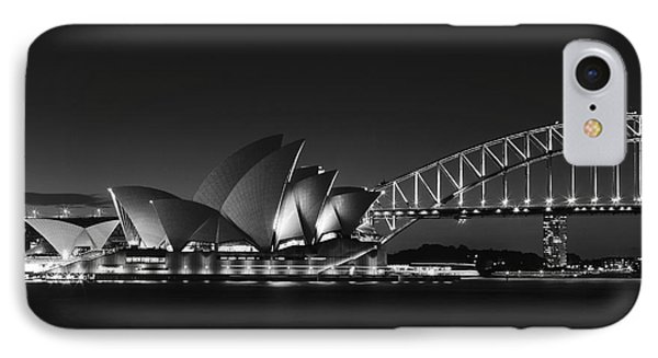 Classic Elegance In Bw IPhone Case