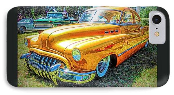 Classic Fifties Buick - Cruising The Coast IPhone Case