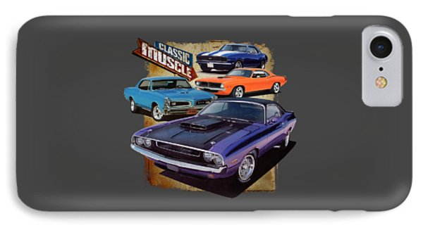 Classic Muscle IPhone Case