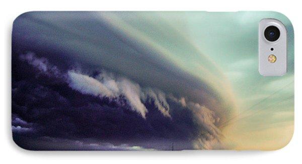 Classic Nebraska Shelf Cloud 027 IPhone Case