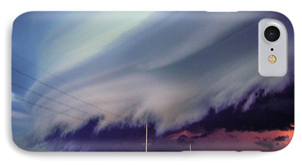 Classic Nebraska Shelf Cloud 028 IPhone Case