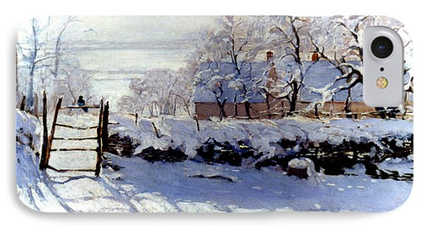 Claude Monet: The Magpie IPhone Case
