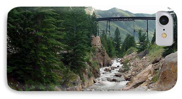 Clear Creek Colorado IPhone Case