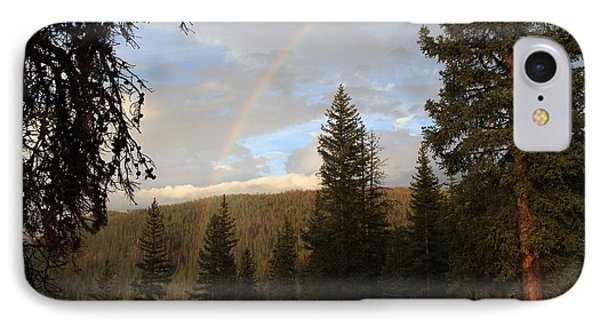 Clearing Rain And Rainbow IPhone Case