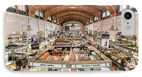 Cleveland Westside Market  IPhone Case