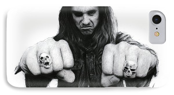 Cliff Burton IPhone Case