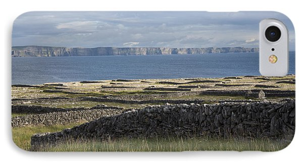 Cliffs Of Moher From Inisheer IPhone Case
