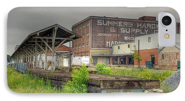 Clinchfield Train Station Platform IPhone Case