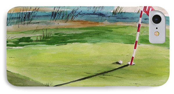 Close At The Eleventh Hole IPhone Case
