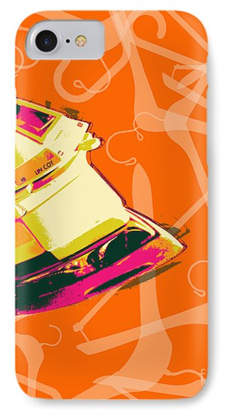 Clothes Iron Pop Art IPhone Case