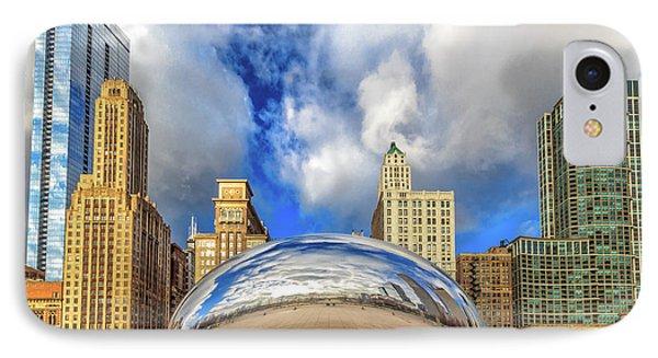 Cloud Gate @ Millenium Park Chicago IPhone Case
