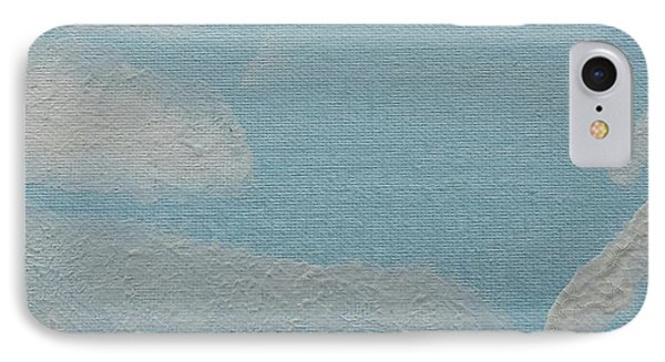 IPhone Case featuring the painting Clouds by Epic Luis Art