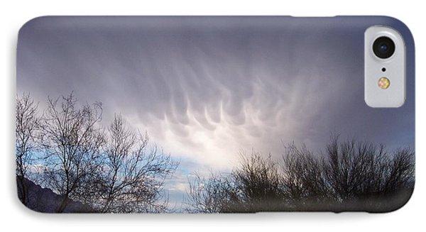 Clouds In Desert IPhone Case