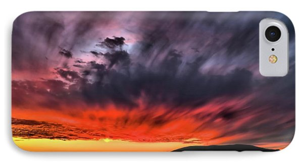 Clouds In Motion Before The Storm IPhone Case