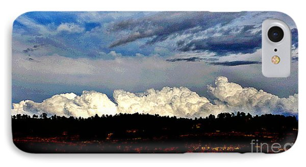 Clouds Over Pine Ridge IPhone Case