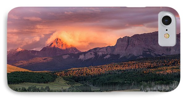 Clouds Over Sneffels At Sunset IPhone Case