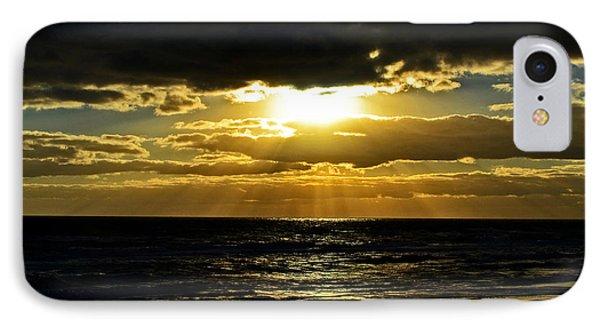 Cloudy Sunrise At Flagler Beach 002 IPhone Case