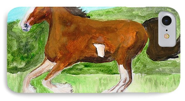 Clydesdale IPhone Case
