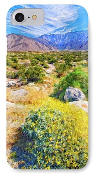 Coachella Spring IPhone Case