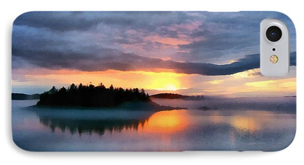 Coastal Maine Sunset IPhone Case