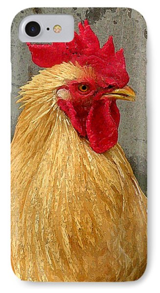 Cock Of The Walk IPhone Case