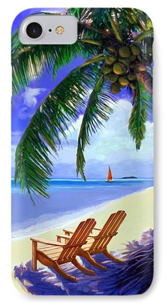 Coconut Palm IPhone Case