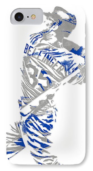 Cody Bellinger Los Angeles Dodgers Pixel Art 2 IPhone Case