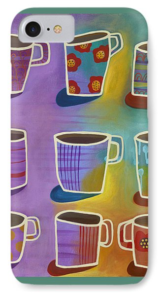 IPhone Case featuring the painting Coffee Time by Carla Bank