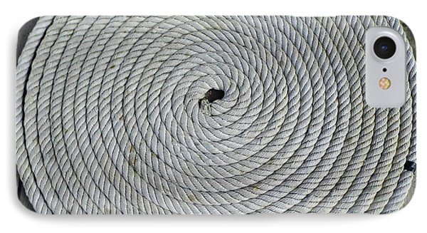 Coiled By D Hackett IPhone Case