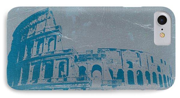 City Scenes iPhone 8 Case - Coliseum by Naxart Studio