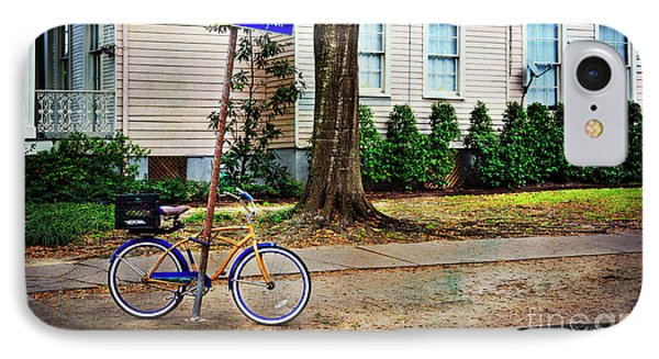 IPhone Case featuring the photograph Coliseum-washington Bicycle by Craig J Satterlee