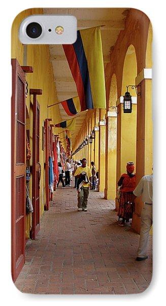 Colombia Walkway IPhone Case