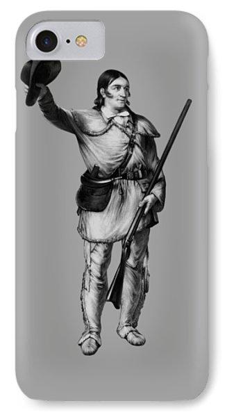 Colonel Davy Crockett IPhone Case