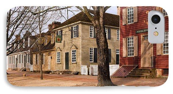 Colonial Street Scene IPhone Case
