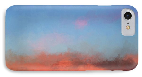 Color Abstraction Xlvii - Sunset IPhone Case