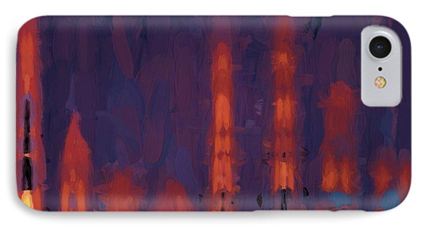 Color Abstraction Xxxviii IPhone Case