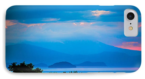 Color Over The Lake IPhone Case