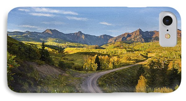 Colorado Curves IPhone Case