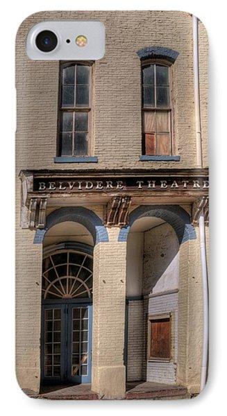 Belvidere Theatre IPhone Case