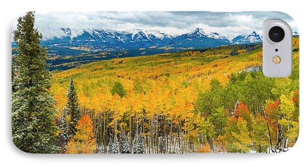 Colorado Valley Of Autumn Color IPhone Case