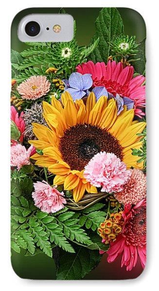 Colorful Flower Arrangement IPhone Case